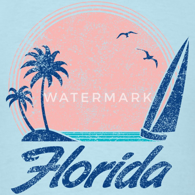Florida Sunset T-Shirts - Men's T-Shirt