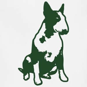 Bull Terrier 2013 1c_4light T-Shirts - Adjustable Apron