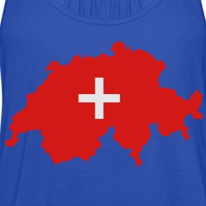 Switzerland - Women's Flowy Tank Top by Bella