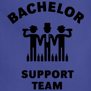 Bachelor Support Team (Stag Party) T-Shirts - Adjustable Apron