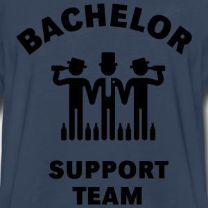 Bachelor Support Team (Stag Party) T-Shirts - Men's Premium Long Sleeve T-Shirt