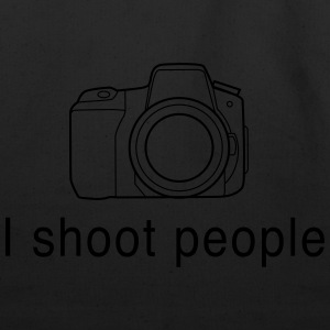 I Shoot People - Camera T-Shirts - Eco-Friendly Cotton Tote