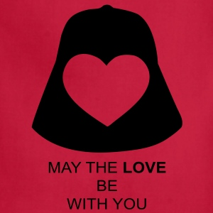 May the love be with you T-Shirts - Adjustable Apron