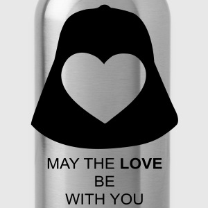 May the love be with you T-Shirts - Water Bottle