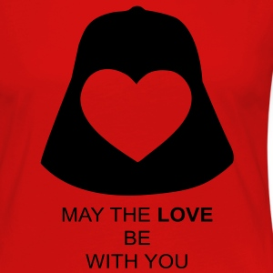May the love be with you T-Shirts - Women's Premium Long Sleeve T-Shirt