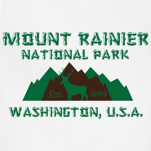 Mount Rainier National Park T-Shirts - Adjustable Apron