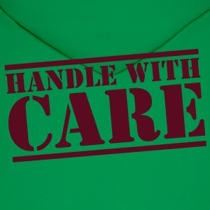 HANDLE with CARE in stencil T-Shirts - Men's Hoodie