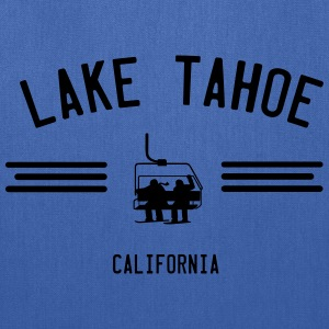 Lake Tahoe California Ski Lift T-Shirts - Tote Bag