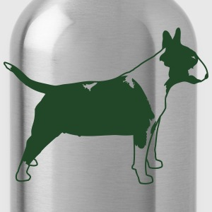 Bull Terrier SIDE 1c T-Shirts - Water Bottle