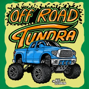 Off Road Toyota Tundra 4x4 pickup - Men's Hoodie