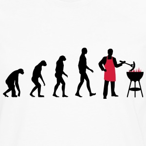 Evolution BBQ T-Shirts - Men's Premium Long Sleeve T-Shirt