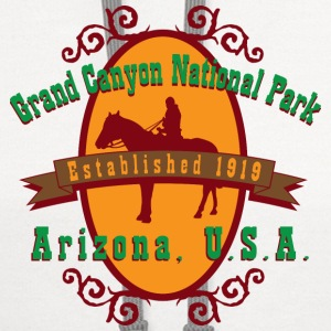 Grand Canyon National Park Arizona Women's T-Shirts - Contrast Hoodie