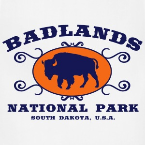 Badlands National Park T-Shirts - Adjustable Apron