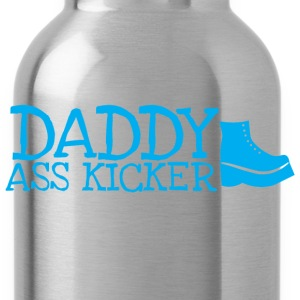 Daddy ass kicker with a boot T-Shirts - Water Bottle