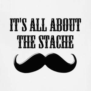 It's All About The Stache - Adjustable Apron