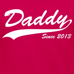 daddy since 2013 - Women's Premium Long Sleeve T-Shirt