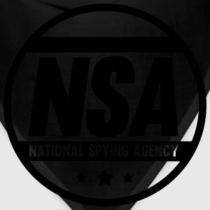 NSA National Spying Agency T-Shirts - Bandana