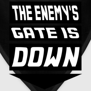The Enemy's Gate is Down Kids' Shirts - Bandana