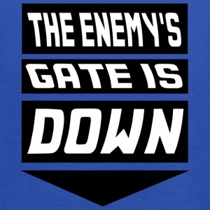 The Enemy's Gate is Down Kids' Shirts - Women's Flowy Tank Top by Bella