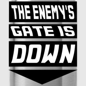 The Enemy's Gate is Down Kids' Shirts - Water Bottle
