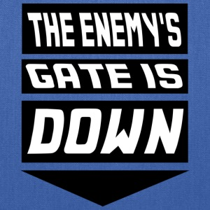 The Enemy's Gate is Down Kids' Shirts - Tote Bag