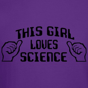 This Girl Loves Science Women's T-Shirts - Crewneck Sweatshirt