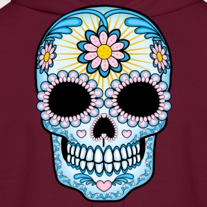 Colorful Sugar Skull Women's T-Shirts - Men's Hoodie