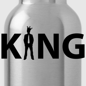 king T-Shirts - Water Bottle