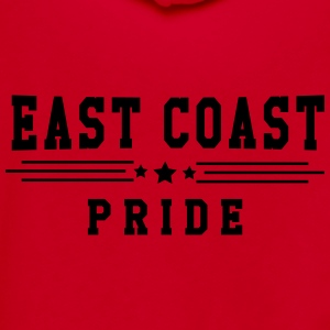 East Coast Pride Women's T-Shirts - Unisex Fleece Zip Hoodie by American Apparel