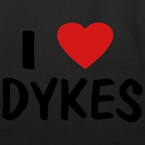 I LOVE DYKES - Eco-Friendly Cotton Tote