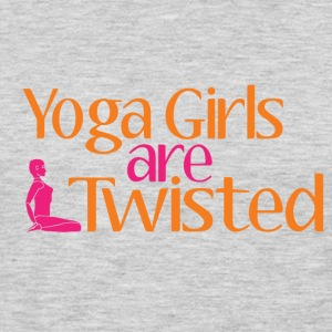 Yoga Girls Are Twisted Women's T-Shirts - Men's Premium Long Sleeve T-Shirt