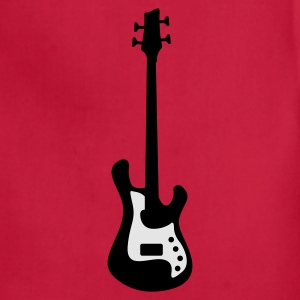 bass guitar T-Shirts - Adjustable Apron