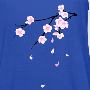 Cherry blossoms (Sakura) Women's T-Shirts - Women's Flowy Tank Top by Bella