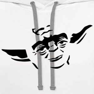 Yoda Face - Contrast Hoodie
