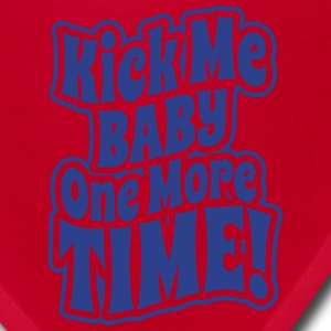 Kick me baby one more time Women's T-Shirts - Bandana