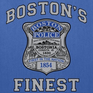 Boston'S Finest - Tote Bag