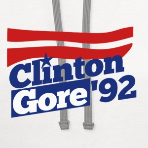 Clinton Gore 1992 - Contrast Hoodie