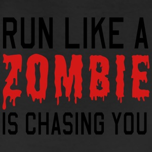 Run like a zombie is chasing you Women's T-Shirts - Leggings