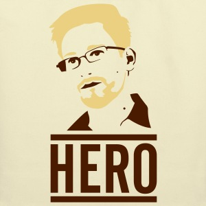 Edward Snowden: Hero T-Shirts - Eco-Friendly Cotton Tote