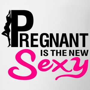 Pregnant is the new sexy Women's T-Shirts - Coffee/Tea Mug
