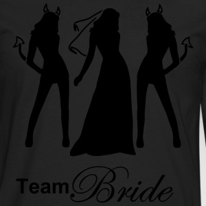 team bride Women's T-Shirts - Men's Premium Long Sleeve T-Shirt
