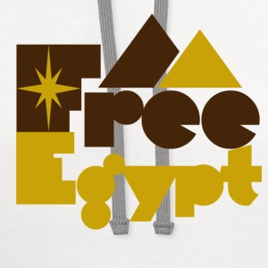 Free Egypt - Contrast Hoodie