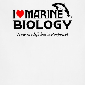 I Love Marine Biology - Adjustable Apron