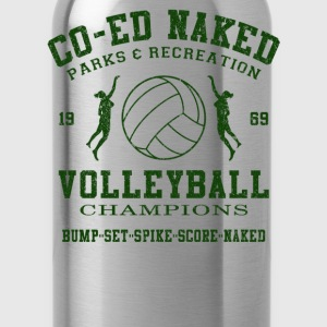 CO-ED Naked Volleyball - Water Bottle