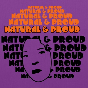 Natural & Proud Women's T-Shirts - Tote Bag