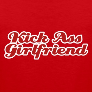 Kick Ass Girlfriend - Men's Premium Tank