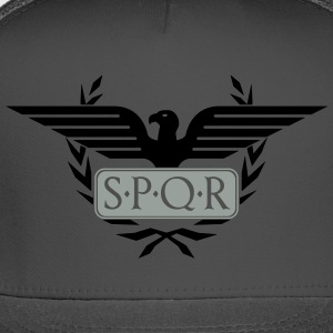 Laurel wreath eagle Aquila SPQR Rome Shirt - Trucker Cap