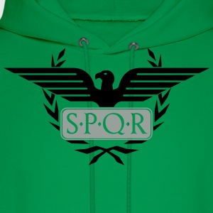 Laurel wreath eagle Aquila SPQR Rome Shirt - Men's Hoodie