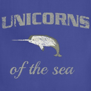 Narwhal. Unicorns of the Sea T-Shirts - Adjustable Apron