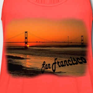 Golden Gate - Women's Flowy Tank Top by Bella